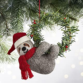Pier One Scully The Sloth Christmas Ornament or Napkin Ring