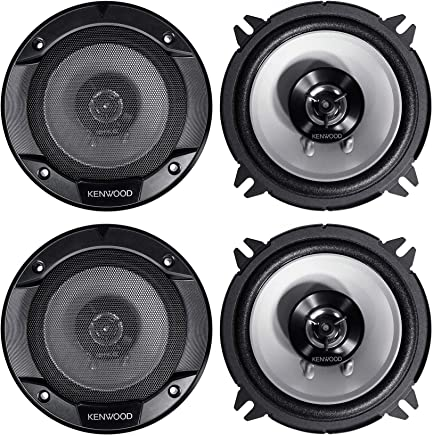 "$54 » (4) Kenwood KFC-1366S 5.25"" 1000 Watt 2-Way Car Audio Coaxial Speakers"