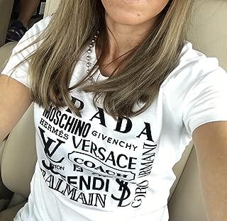 Designer Name Brands Inspired T-Shirt - Women's Tee - Men's - Unisex T-Shirts