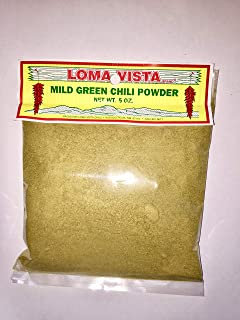 Loma Vista Mild Hatch Green Chili Powder, 5 Ounces