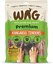 Kangaroo Tendons Grain Free Hypoallergenic Natural Australian Made Dog Treat Chew, Perfect for all Sizes & Breeds
