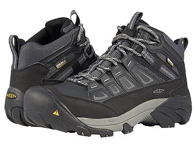 Keen Utility Boulder Mid Waterproof Steel Toe (Magnet/Gargoyle) Men
