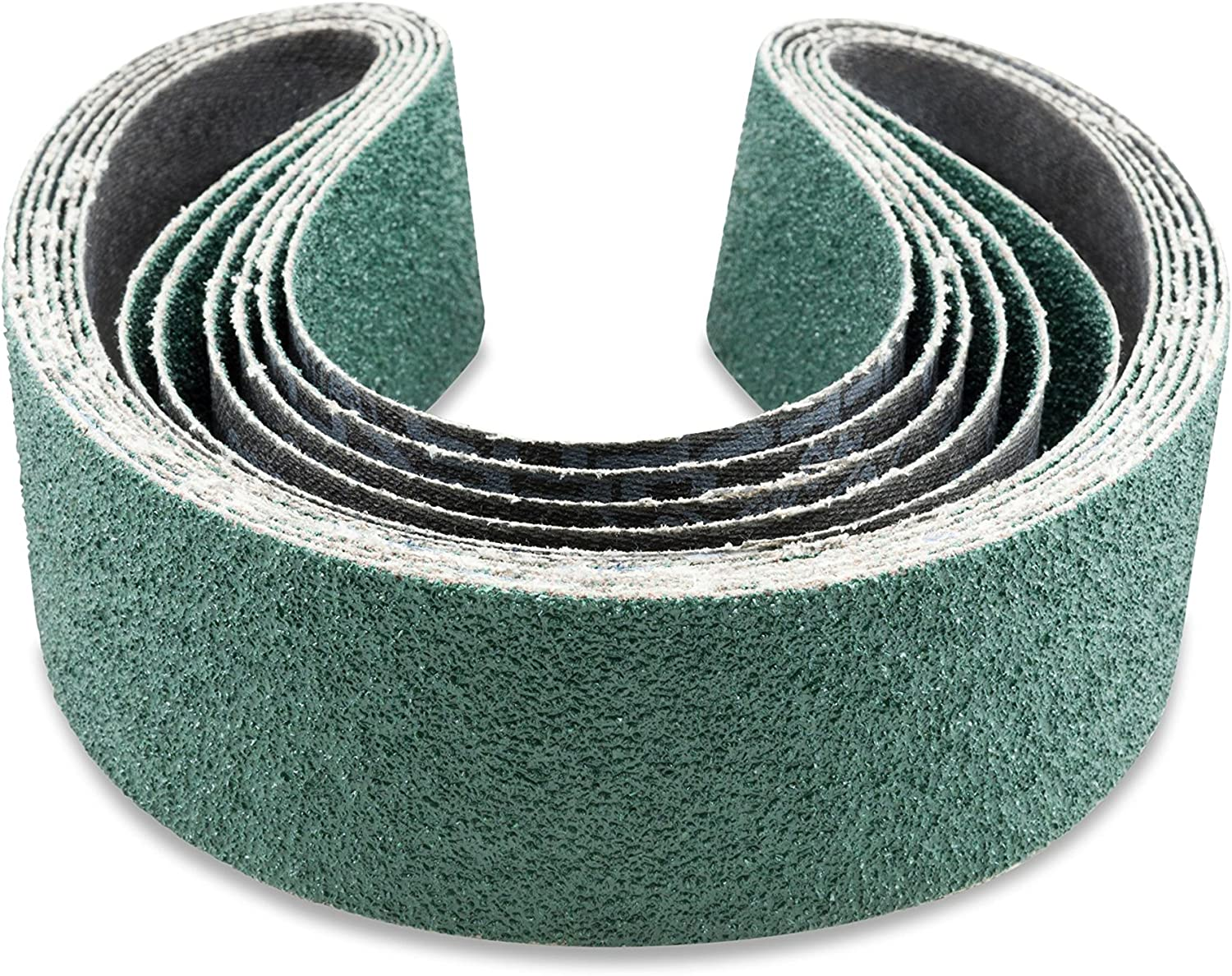 25-Pack VSM Zirconia Better Performance Cloth Belt ZK713X 2-1//2 Inch x 48 Inch 36 Grit X-Weight Backing