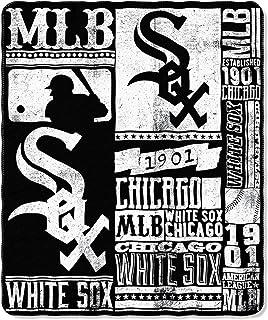 The Northwest Company MLB Men,Unisex-Adult,Women MLB Strength Printed Fleece Throw, 50-inch by 60-inch