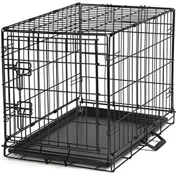 ProSelect Easy Dog Crates for Dogs and Pets - Black