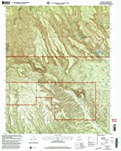 YellowMaps Canada NM topo map, 1:24000 Scale, 7.5 X 7.5 Minute, Historical, 2002, Updated 2003, 27 x 22 in