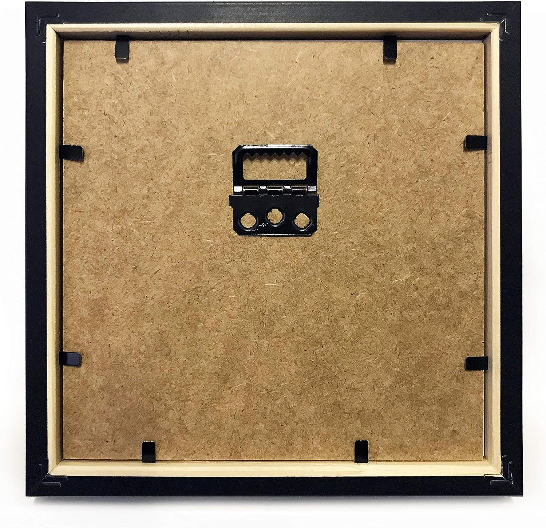International Graphics Carte postale encadr/ée /« The Darwins Preoccupations /» avec cadre noir 16 x 16 cm