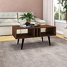 Tecnomobili Coffee Table, Walnut, RIV049
