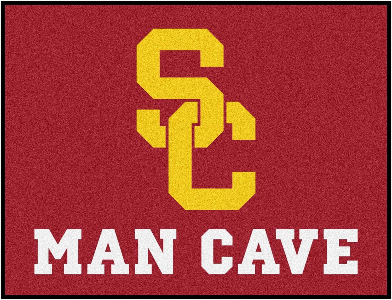 FANMATS 14625 University of Southern California Nylon Universal Man Cave AllStar Mat