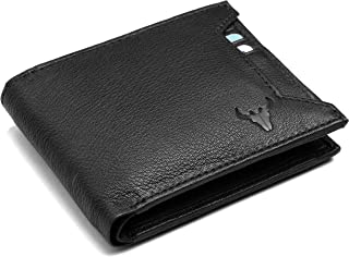 Napa Hide by Wildhorn RFID Leather Men's Wallet (Black)