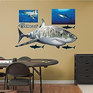 Fathead Great White Shark Real Big Wall Decors