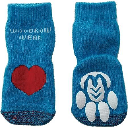 犬用靴下 Power Paws Advanced Reinforced Toe (パワー パウズ) XL ハート 4個入り [並行輸入品]
