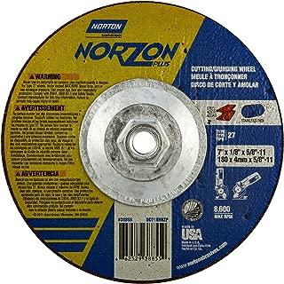Norton 66253370799 Unitized /& Convolute Wheels Size 7 x 1//4 x 5//8-11