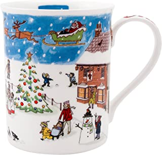 Alison Gardiner Famous Illustrator - Fine Bone China Coffee Cup and Tea Mug - Christmas with Premium Quality and Detail