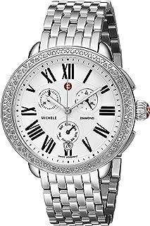 MICHELE Women's MWW21A000001 Serein Analog Display Swiss Quartz Stainless Steel Watch