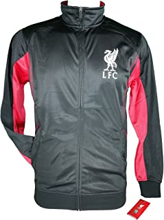 Icon Sports Men Liverpool Official Soccer Track Jacket Football Adult Size 002