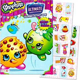 Shopkins Ultimate Coloring & Activity Book Includes Stickers & 2 Posters