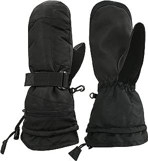 Men's and Women's 100 Gram Thinsulate Waterproof Ski Mittens and Gloves