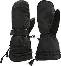 N'Ice Caps Men's and Women's 100 Gram Thinsulate Waterproof Ski Mittens and Gloves