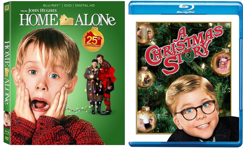 Home Alone 1 & A Christmas Story 2-Blu-ray Christmas Bundle