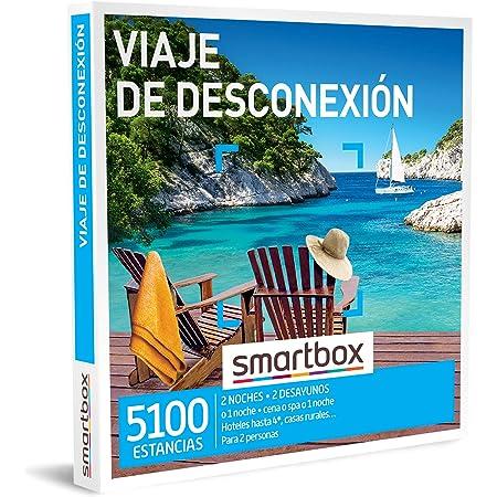 Smartbox - Caja Regalo Viaje de desconexión - Idea de Regalo para Novias - 1 Noche con Desayuno y Cena o Acceso SPA para 2 Personas