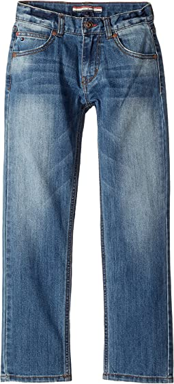 Tommy Hilfiger Kids - Rebel Stretch Jeans in Stone Blue (Big Kids)