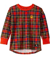Tartan Long Sleeve T-Shirt (Toddler/Little Kids/Big Kids)
