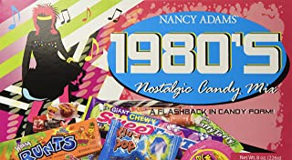 1980's Retro Candy Gift Box-Decade Box Gift Basket - Classic 80's Candy