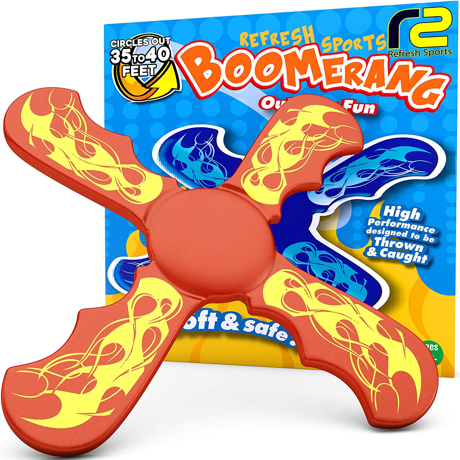 Refresh Sports Boomerang Yard Games: Safe and Durable Outdoor To