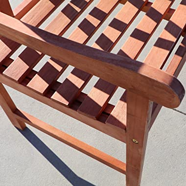 Outdoor Wood Arm Chair