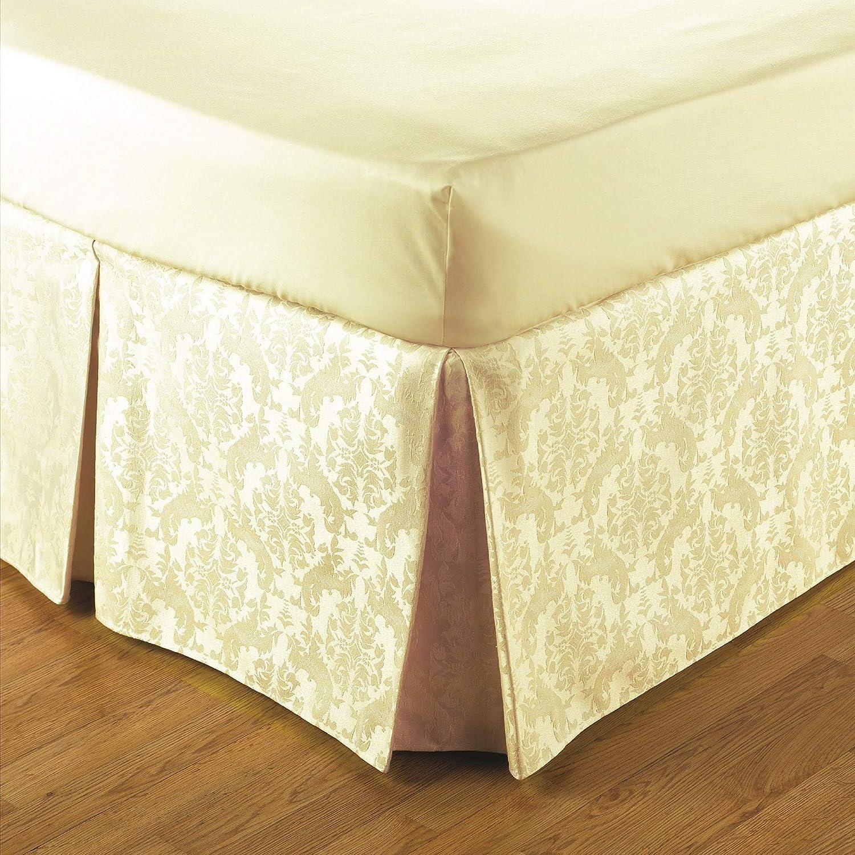 Jansons Direct Linens Belledorm - Cubre canapé Estampado Damasco de fácil Ajuste (Doble) (Crema)
