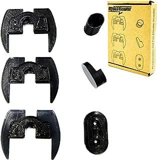 myBESTscooter - Amortiguador de vibración de Goma 3D, protección LED, Piezas de modificación para Xiaomi Mijia M365 M187 Scooter eléctrico, pie de Apoyo, Cubierta de Gancho