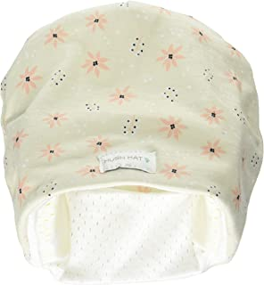 Hush Baby Hat with Softsound Technology and Medical Grade Sound Absorbing Foam,  Mistletoe,  Beige,  Large