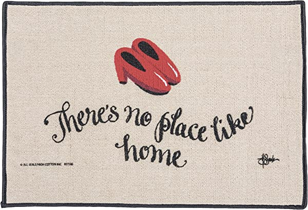 High Cotton Inc There S No Place Like Home Doormat