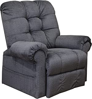 Catnapper Omni 4827 Power Full Lay-Out Large Heavy Duty Lift Chair Recliner 450 lb Capacity - Ink Fabric