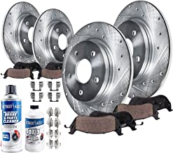 WRX Rear  Drill Slot Brake Rotors+Ceramic Brake Pads Legacy For Subaru Outback