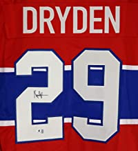Ken Dryden Montreal Canadiens Signed Autographed Red #29 Custom Jersey COA