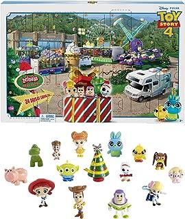 Disney Toy Story GKT88 Pixar 4 Movie Advent Calendar, Multicolour