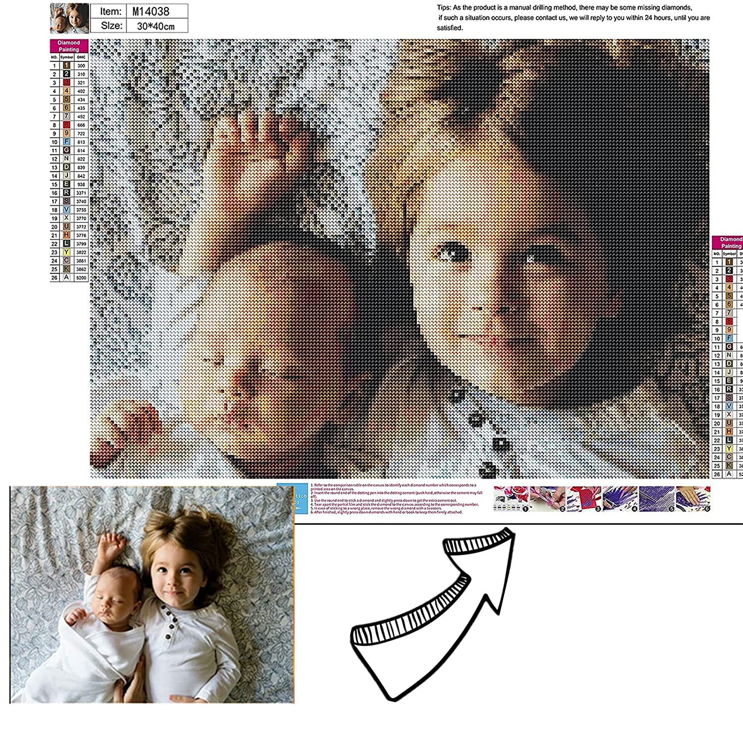Diamond Painting Kits Custom 5D Limited time for free shipping Excellent Personalized Di