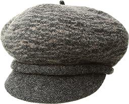 Boiled Wool Two-Tone Newsboy