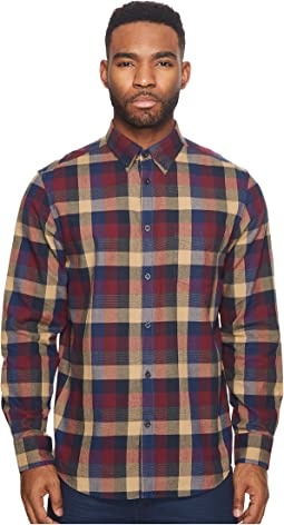 Ben Sherman - Long Sleeve Textured Buffalo Shirt