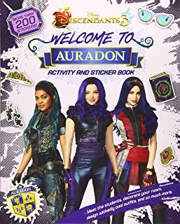 Best Welcome to Auradon: A Descendants 3 Sticker and Activity Book Review