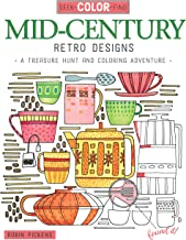Seek, Color, Find Mid-Century Retro Designs: A Treasure Hunt and Coloring Adventure (Design Originals)