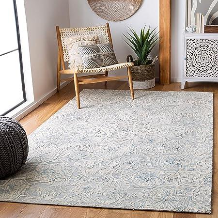 Safavieh Abstract Collection Abt958f Handmade Premium Wool Area Rug 5 X 8 Grey Beige Furniture Decor