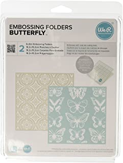 A2-Size Embossing Folder QUICKUTZ We R Memory Keepers Brackets