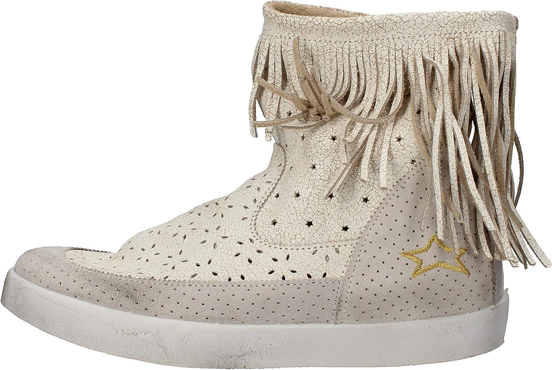 ISHIKAWA Boots Womens Suede White
