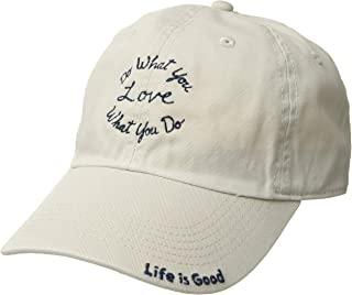 Life is Good Unisex Do What You Love Script Chill Cap