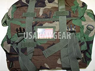 Genuine Military Issue New US Army Military GI Woodland Camo Waterproof Sleep System Carrier SSC Bag MOLLE MSS