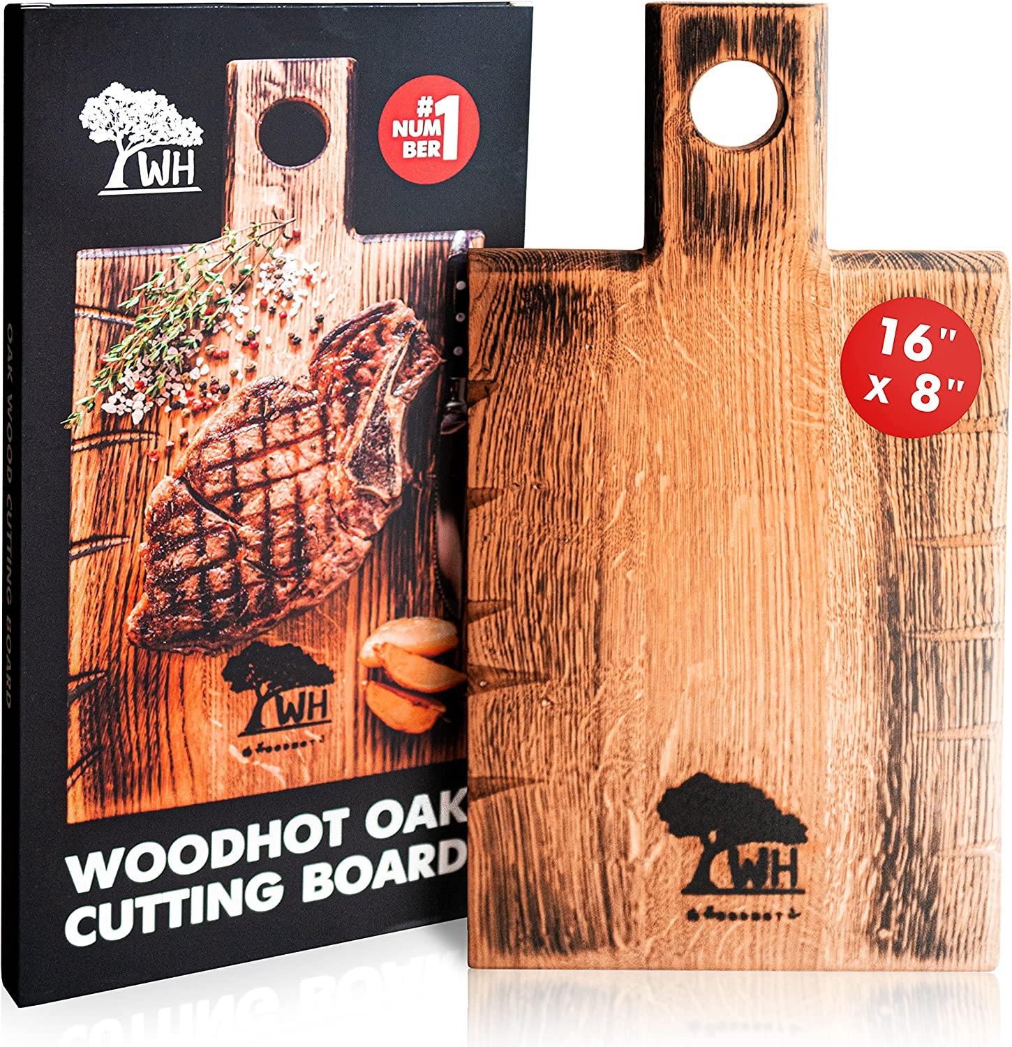 WOODHOT Natural Oak Wood Cutting Board for 16 Ranking TOP4 8 Inch x Wholesale Kitchen -