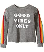 Spiritual Gangster Kids - Good Vibes Only Tee (Toddler/Little Kids/Big Kids)